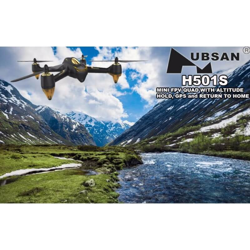 Hubsan H501S FPV X4 Black édition - FULL HD 1080p