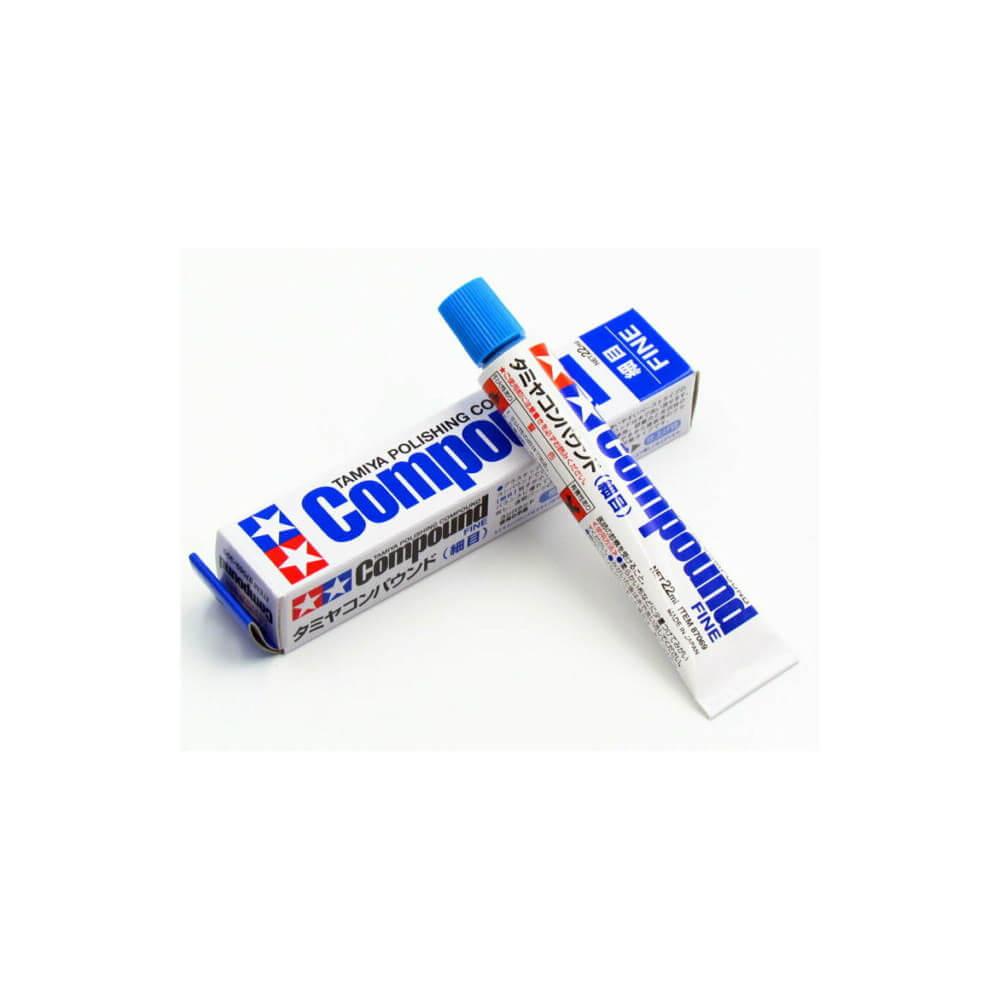 TAMIYA 87069 Pâte à Polir Grain Fin Polishing Compound Fine