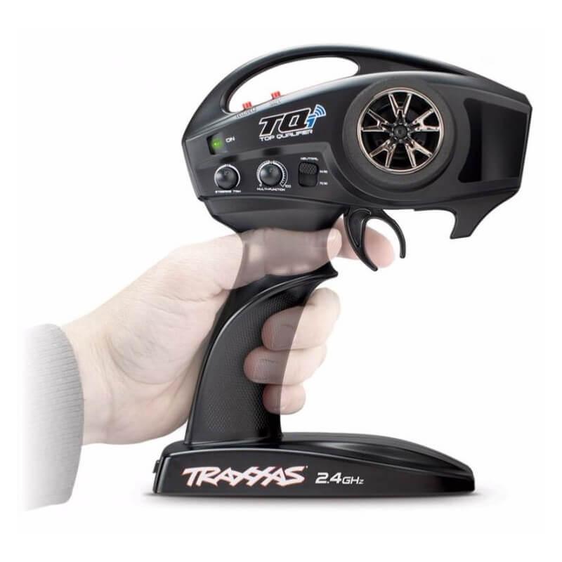 Radio TQi/TSM 2.4Ghz 2 voies avec Micro Récepteur TRX6509R
