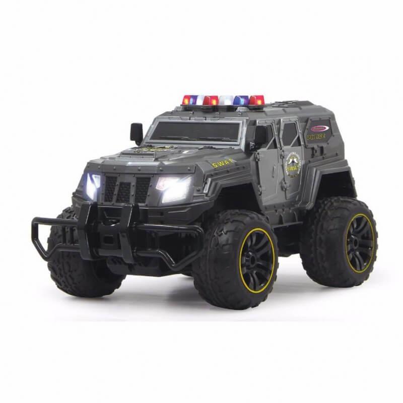 voiture de police swat enfant d s 8 ans jamara 403170. Black Bedroom Furniture Sets. Home Design Ideas