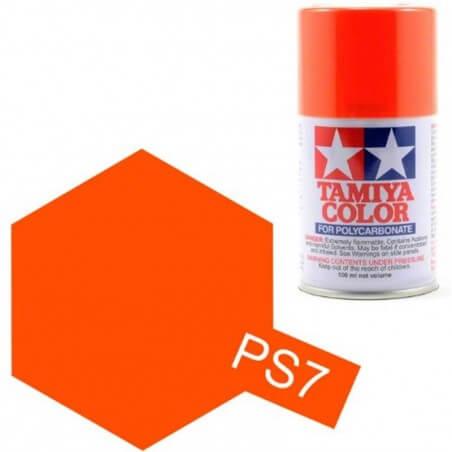 Peinture Lexan PS7 Orange Tamiya 86007