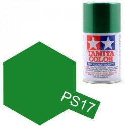 Peinture Lexan PS17 Vert Metallisé Tamiya 86017