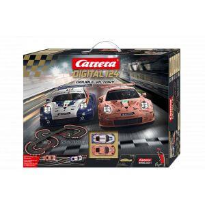 Circuit voitures DIGITAL 124 Double Victory - Dès 10 ans - Carrera 23628