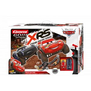 Circuit voitures Disney·Pixar Cars - Mud Racing 1/43 - Dès 6 ans - Carrera GO!!! 62478