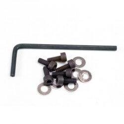 Lot de vis 3,8mm, rondelles + clé Traxxas 1552