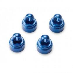 Bouchons d'amortisseurs alu anodisés Bleu x4 Traxxas 3767A