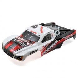 Carrosserie Slash 4x4 1/10 Jeff Kincaid peinte et décorée Traxxas 6820