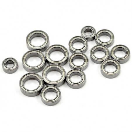 Roulements 4x8mm (x2) / 6x10mm (x8) / 8x12mm x(5) - Latrax (7541X)