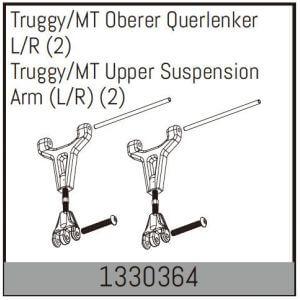 2 supports hauts Truggy/MT G/D - Absima 1330364