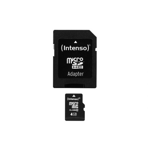 Carte MicroSDHC 4GO avec adaptateur