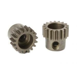 Pignon moteur 17T 48Ddp Acier (3,17mm) pour voiture 1/10