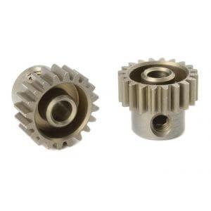 Pignon moteur 20T 48Ddp Acier (3,17mm) pour voiture 1/10