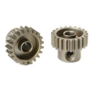Pignon moteur 21T 48Ddp Acier (3,17mm) pour voiture 1/10