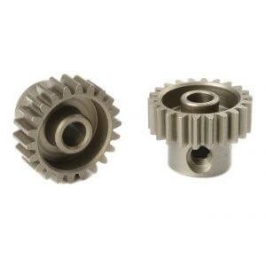 Pignon moteur 22T 48Ddp Acier (3,17mm) pour voiture 1/10