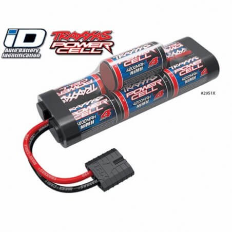 Traxxas Accu 8.4V Power Cell 4200mah Nimh ID 2951X
