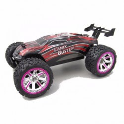 Truggy Land Buster Rouge 1/12 RTR, 30km/h