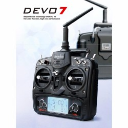 Walkera - Radio DEVO 7 TX Mode1