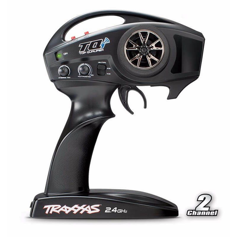 Traxxas E REVO Brushless 1/16 VXL TQI ID TSM 71076-3