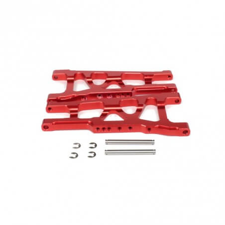 Upgrade Alu Traxxas Slash 1/10 Support AV/ARR D/G (2pièces)