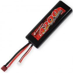 Accu Lipo 2S 7,4V 4200 mAh 40C Prise Dean