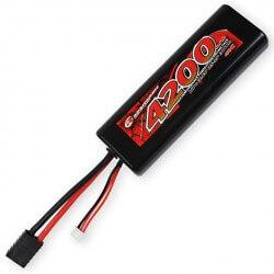 Accu Lipo 2S 7,4V 4200 mAh 40C - Prise Traxxas