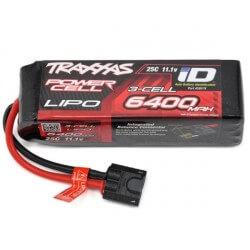 Accu Lipo ID 11,1V 3S 6400mAh 25C- Traxxas 1/10 TRX2857X