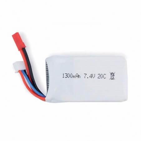 Batterie Lipo 7,4V 1300mAh, CHEERSON CX-35