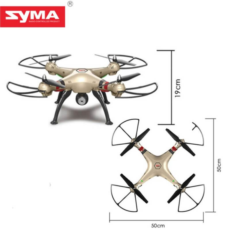Syma X8HC avec caméra HD 720P Altimétre