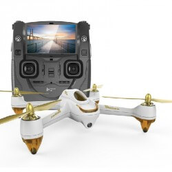 Hubsan H501S FPV X4 White édition - FULL HD 1080p