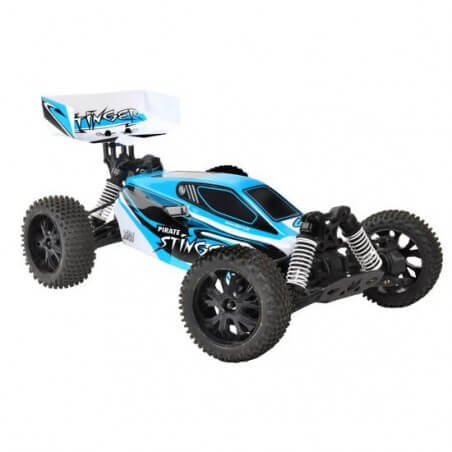 T2M - Buggy 1/10 Pirate STINGER RTR 4WD T4918 Bleu