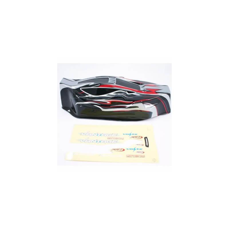 Carrosserie pour FTX Vantage rouge et noire FTX6288