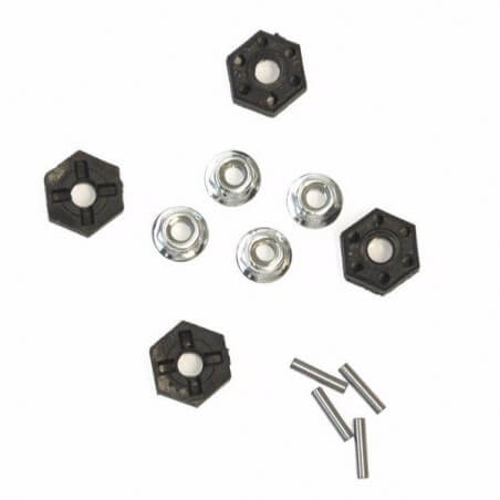 Hexagone 12mm + ecrou de roue FTK-MT12/019
