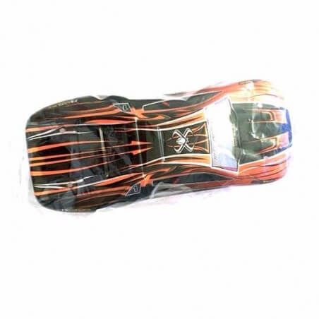 Carrosserie Orange et noire Truggy V2 S912