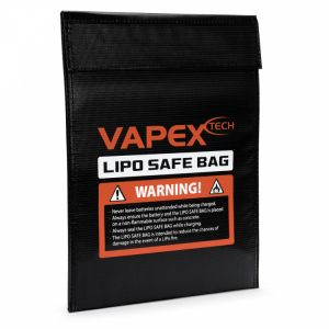 Sac de Protection pour Accu Lipo 23 x 30 cm - VPLIPOBAGB
