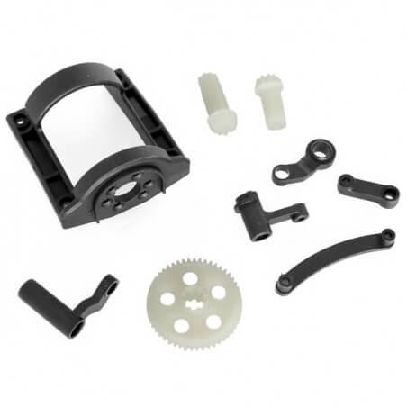 Couronne+pignon+protection moteur+renvoi de direction _ Funtek FTK-MT4-02