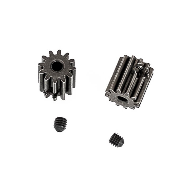 Pignon moteur 12 dents+vis (2pcs) _ Funtek FTK-MT4-27