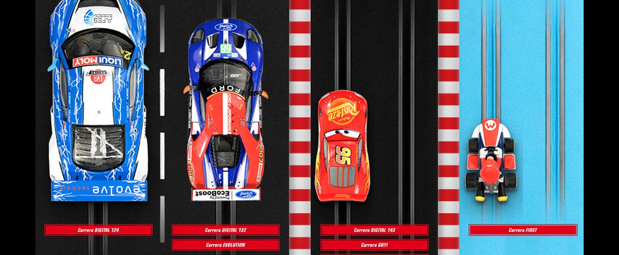 Choisir un Circuit de voiture CARRERA