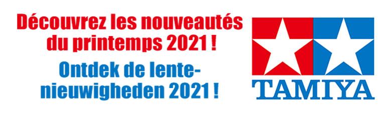 NOUVEAUTÉS TAMIYA 2021