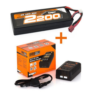 Batteries et chargeurs Hobbytech : Konect