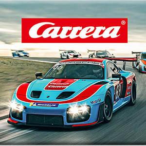 Univers Carrera : voitures, circuits et pièces