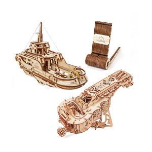 Maquette puzzle 3D : Ugears