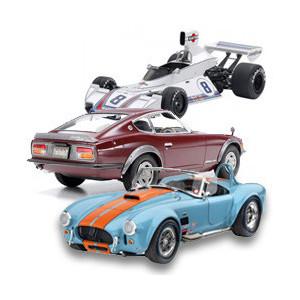 Maquette voiture et camion